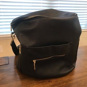 Other - Fawn design look alike diaper bag in black.
